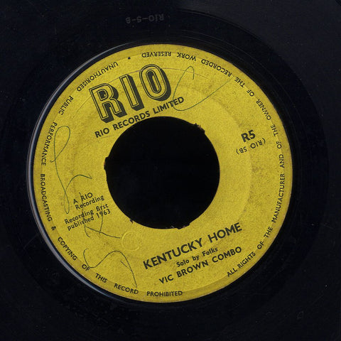 VIC BROWN COMBO / CALVIN [Kentucky Home / Someone]