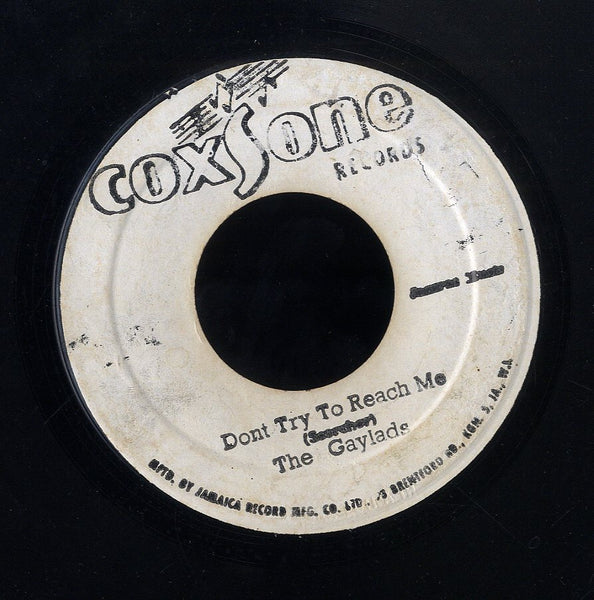 THE HEPTONES / THE GAYLADS [Why Did You Leave / Don't Try To Reach Me]