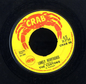 THE TARTONES(PETER AUSTIN & CLARENDONIANS) / DERRICK MORGAN [Lonely Heartaches / Seven Letters]