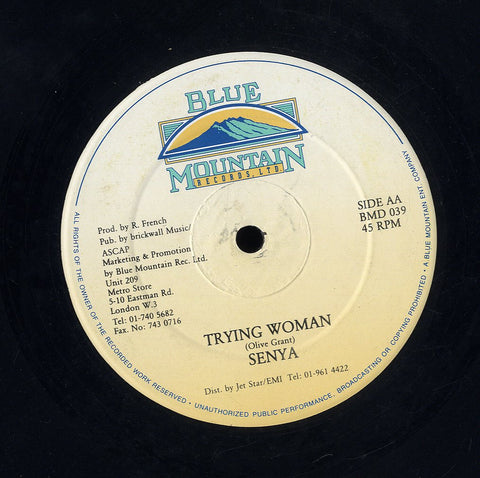 SENYA / CLEMENT IRIE [ Trying Woman / Follow Me]