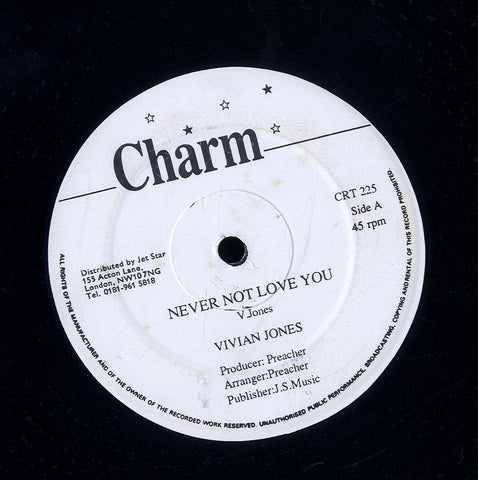 VIVIAN JONES [Never Not Love You / Passion Love]