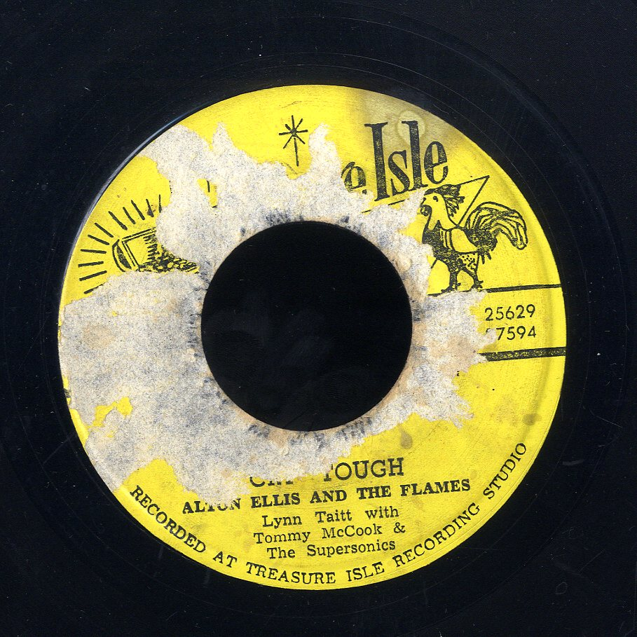 ALTON ELLIS / CAROL WITH TOMMY MCCOOK & SUPERSONICS  [Cry Tough / Mr Solo ]