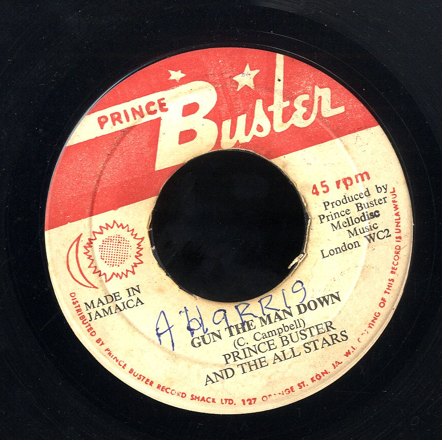 PRINCE BUSTER / OWEN GRAY [Gun The Man Down / By The Tree In The Window]
