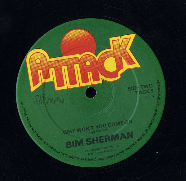 BIM SHERMAN [Lightning & Thunder / Why Won't You Come On]