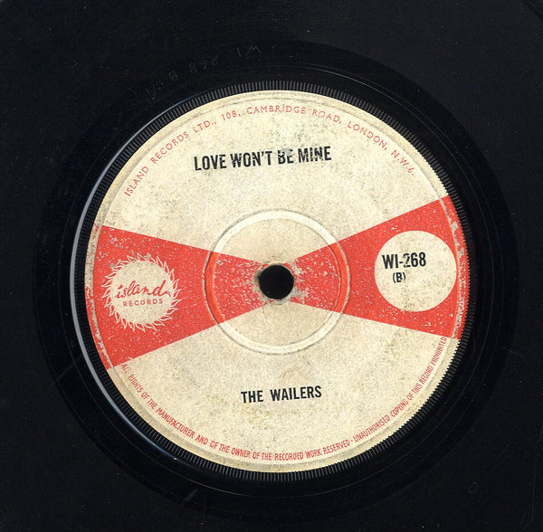 WAILERS [I'm Gonna Put It On / Love Won't To Be Mine]