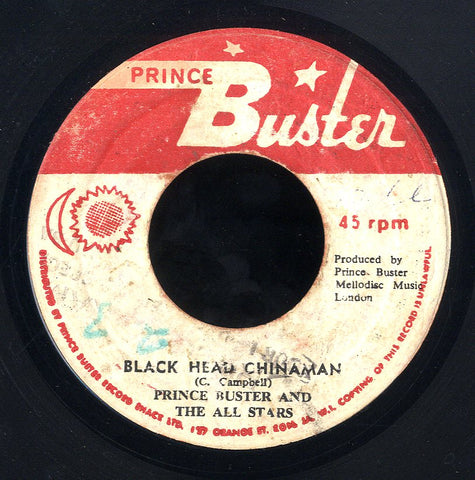 PRINCE BUSTER [Black Head China Man / My Ticket]