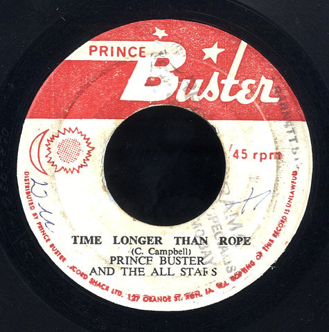 PRINCE BUSTER [Time Longer Than Rope / Fake King]