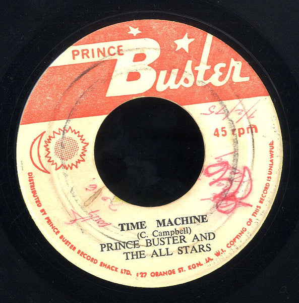 PRINCE BUSTER [Time Machine / One Hand Washes The Other]