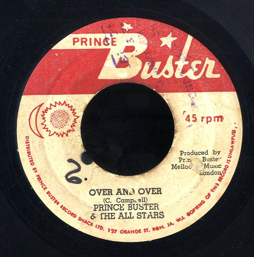 PRINCE BUSTER [Over & Over / King Duke Sir]