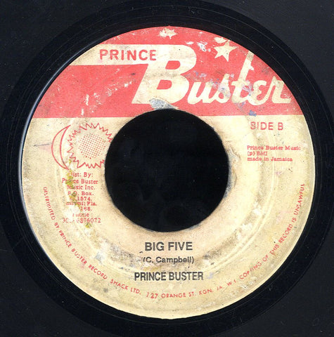 PRINCE BUSTER [Big Five / Fowl Thief]