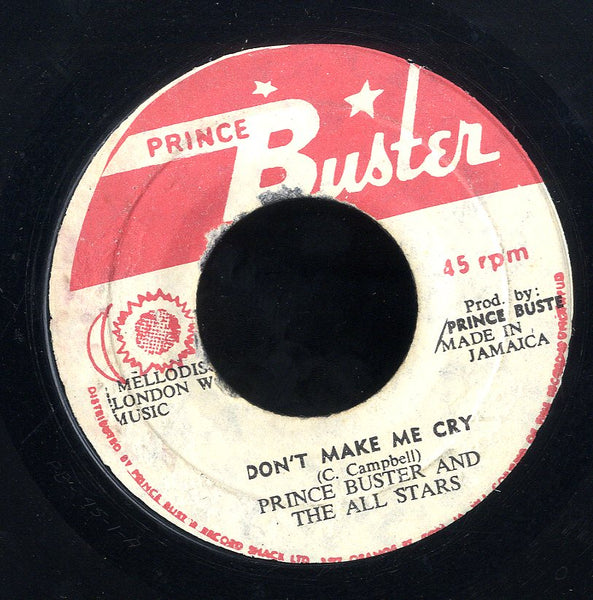 PRINCE BUSTER [Wash Wash / Don't Make Me Cry]