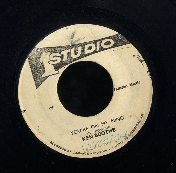 KEN BOOTHE  [You're On My Mind ]