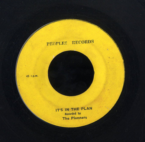 THE PLANNERS [It's In The Plan / Use Your Head ]