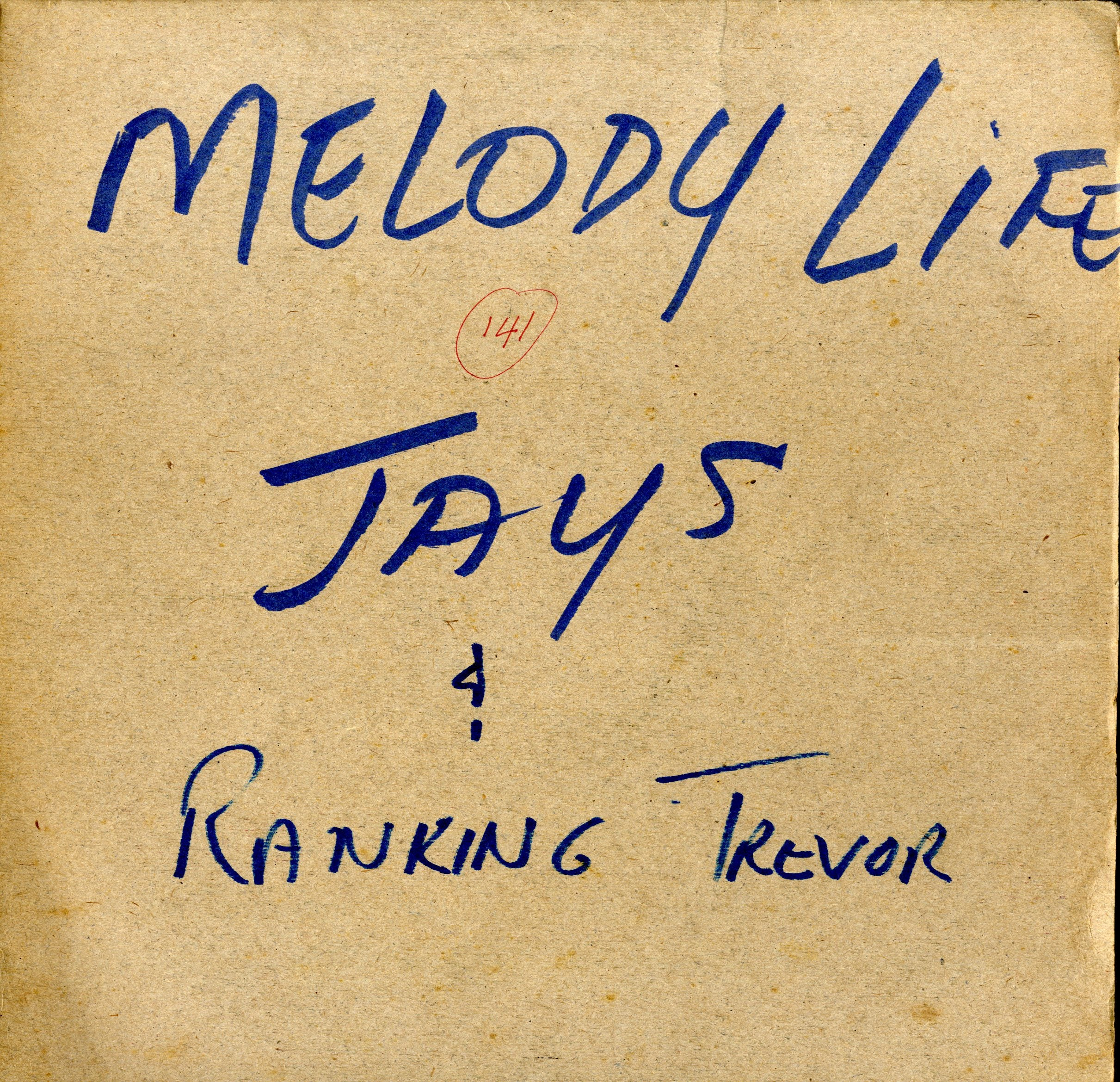THE JAYS & RANKING TREVOR [Queen Majesty / Melody Life]