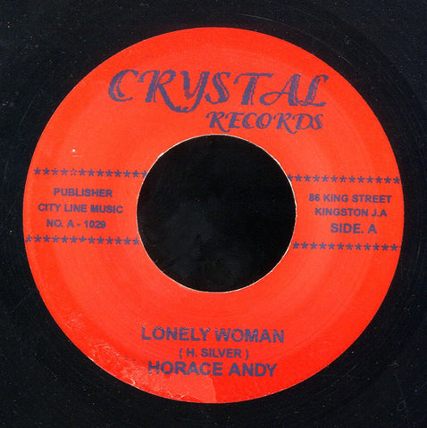 HORACE ANDY / JUNIOR SOUL  [Lonely Woman / Glendevon Special]