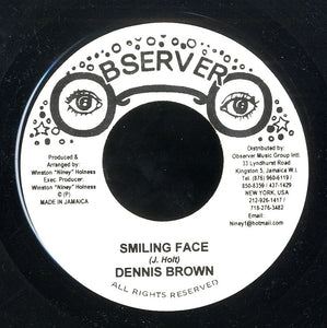 DENNIS BROWN [Smiling Face]