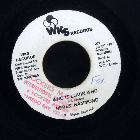 BERES  HAMMOND  [Who Is Lovin Who]