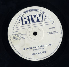 JOHN MCLEAN / MAD PROFESSOR [If I Give My Heart To You / Doppler Dub]