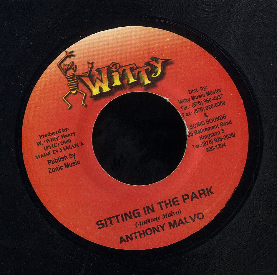 ANTHONY MALVO [Sitting In The Park]