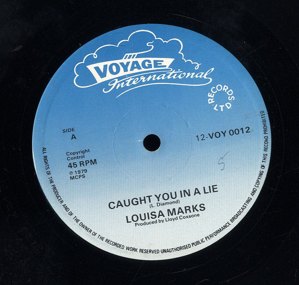 LOUISA MARKS / CLINTON GRANT [Caught You In A Lie / Keep On Grooving Me Girl]