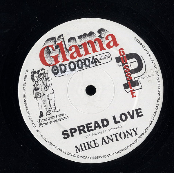 MIKE ANTHONY / TOP CAT [Spread Love / Over U Body]