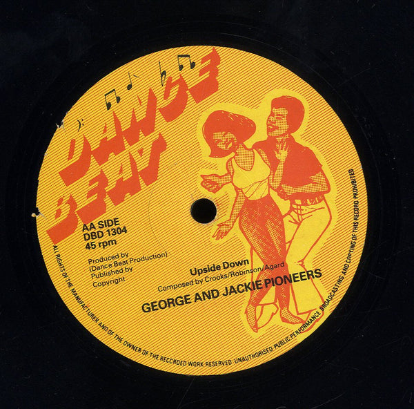GEORGE AND JACKIE PIONEERS  [Cleopatra / Upside Down]