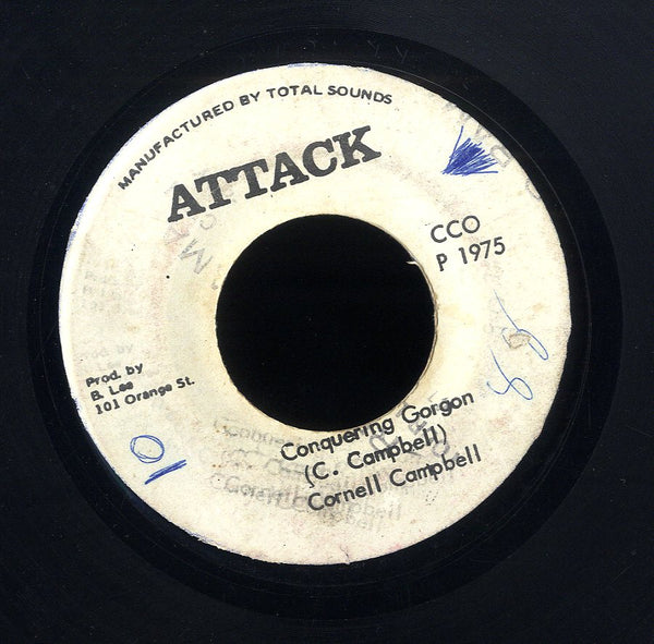 CORNELL CAMPBELL /  STRAIGHT TO THE BOY NINEY HEAD [Conquering Gorgon]