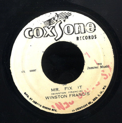 WINSTON FRANSIS [Mr Fix It]