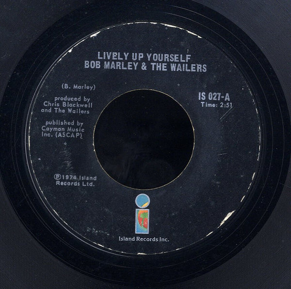 BOB MARLEY & THE WAILERS [Lively Up Your Self / So Jah Say]