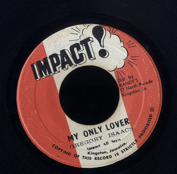 GREGORY ISAACS [My Only Lover]