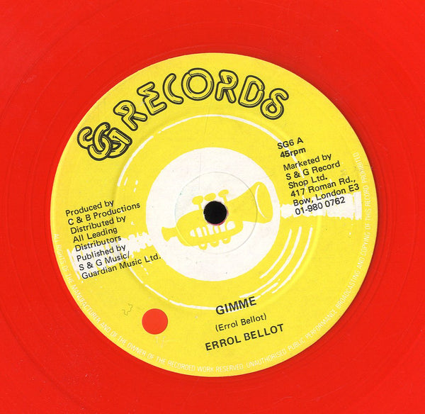 ERROL BELLOT [Gimme]
