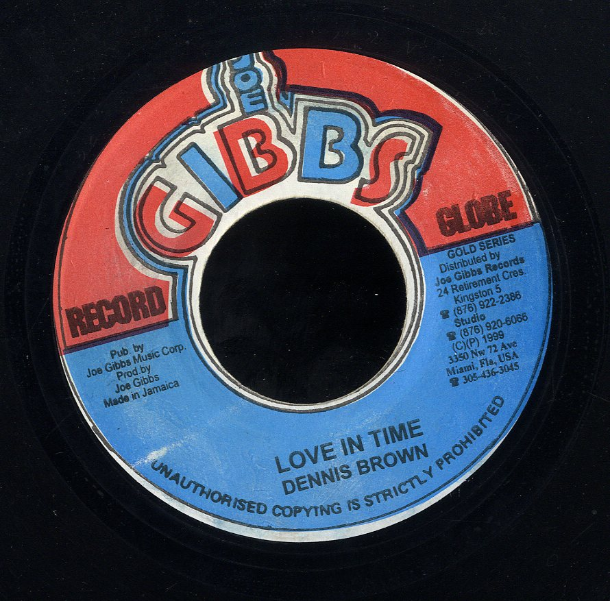 DENNIS BROWN [Love In Time]