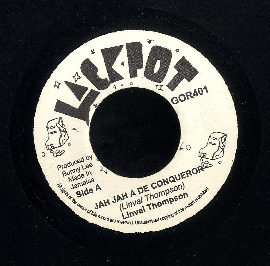 LINVAL THOMPSON / KING TUBBYS & THE AGREVATORS [Jah Jah A De Conqueror / Conquering Dub]