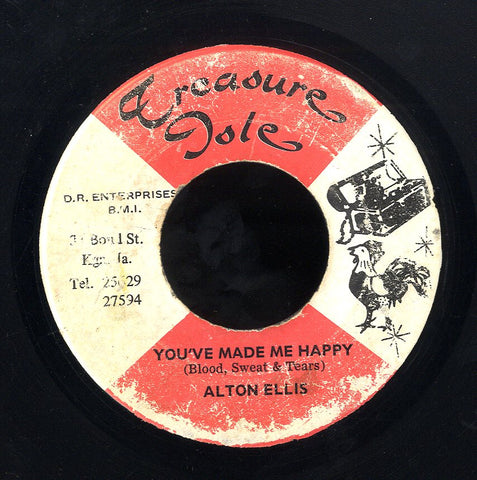 ALTON ELLIS / TOMMY MCCOOK [You've Made Me So Happy / Continental]