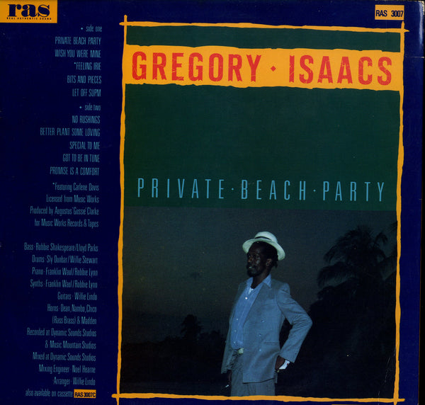GREGORY ISAACS [Private Beach Party]