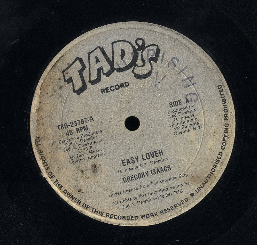 GREGORY ISAACS [Easy Lover]
