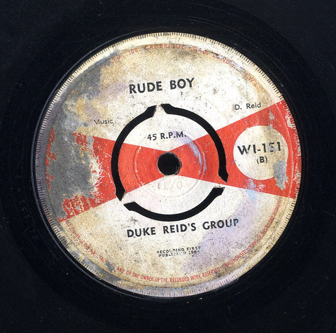 ROLAND ALPHONSO / MONTY MORRIS [Rude Boy / What A Man Doeth]