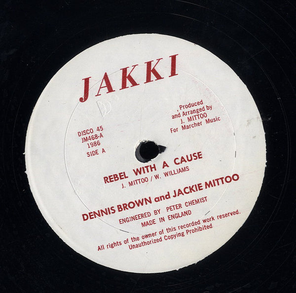 DENNIS BROWN & JACKIE MITTOO [Rebel With A Cause / Trade Mark]