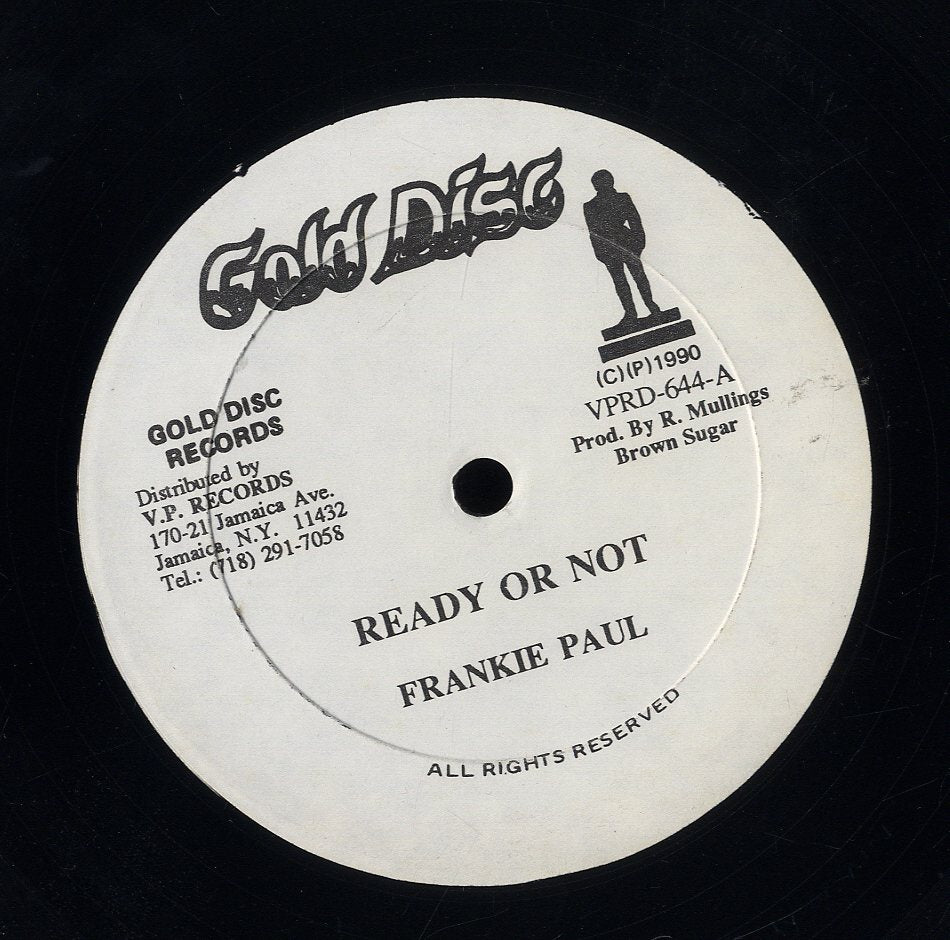 FRANKIE PAUL [Ready Or Not]