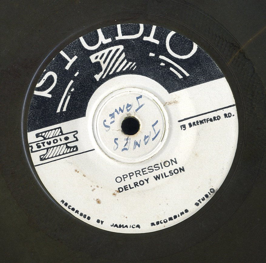 DELROY WILSON [Oppession / Pick Up The Pieces]