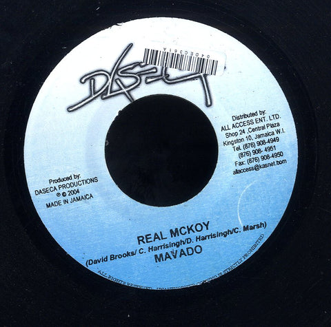 MAVADO / BOUNTY KILLER [Real Mckoy / Talk To Dem]