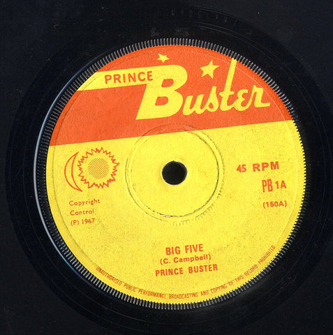 PRINCE BUSTER [Big Five / Musical College ]