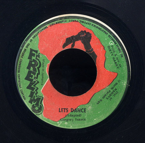 GREGORY ISAACS [Lets Dance]
