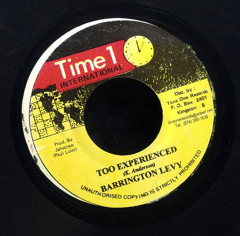 BARRINGTON LEVY [Too Experience]