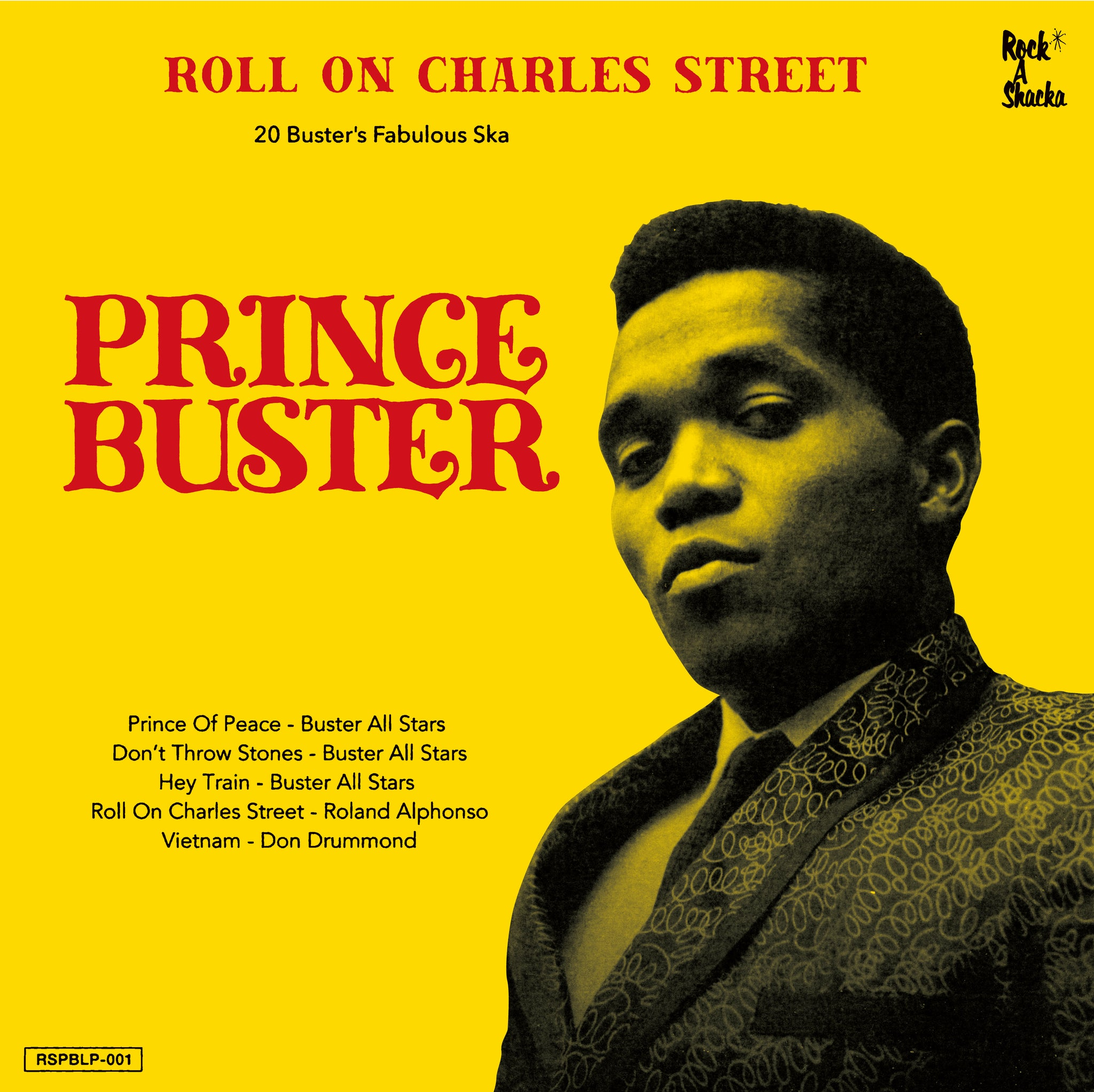 PRINCE BUSTER SKA SELECTION  [Roll On Charles Street Lp]