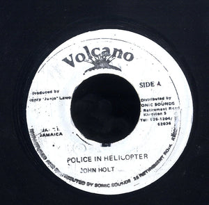 JOHN HOLT [Police In Helicopter]