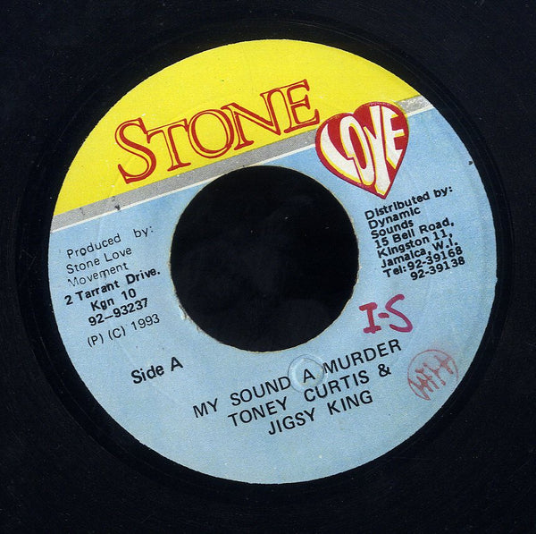 TONEY CURTIS & JIGSY KING [My Sound A Murder]