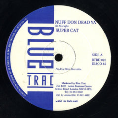 SUPER CAT [Nuff Don Dead Ya / A.b.c.]