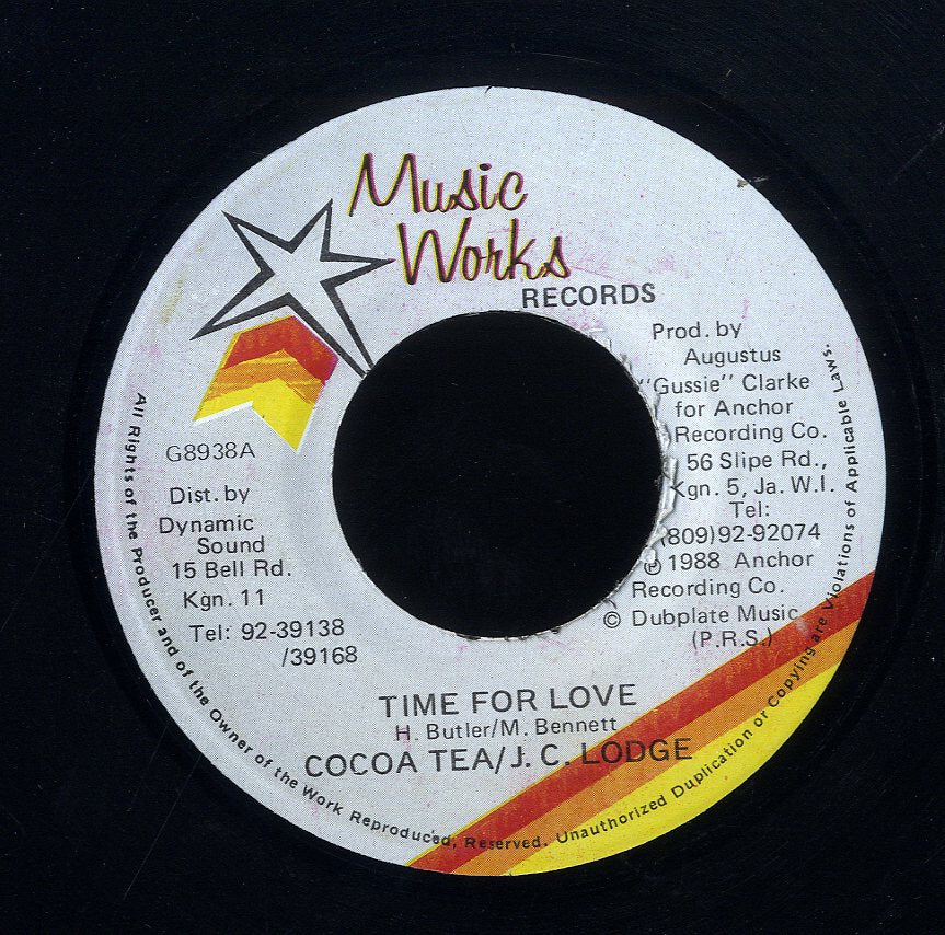 COCOA TEA & J.C. LODGE [Time For Love]