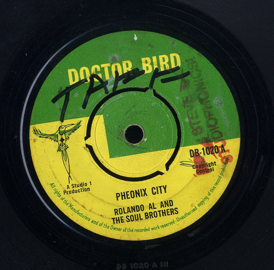 ROLAND ALPHONSO & SOUL BROTHERS  / THE DEACONS [Pheonix City / Men Alone]